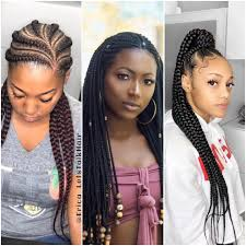 This kind of ghana weaving is different because it forms a hump at the top of the head. Latest Ghana Weaving Hairstyles In Nigeria In 2019 Legit Ng Cute766