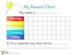Superstar Weekly Reward Chart Classroom Reward Chart Template Enewspaper Club