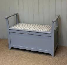 painted upholstered bench seat diy with storage painted upholstered bench seat diy with storage