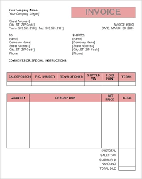 Examples Of Tax Invoices Interesting Tax Invoice Template Word Doc Example Blank Simple Gst Format