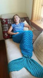 Mermaid Blanket Pattern Delectable The 48 Best Mermaid Blankets Images On Pinterest Mermaid Blankets