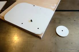 to create the small radius corner i need to use a template and a straight router bit with a bearing