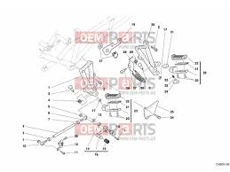 ducati st3 s abs footrests left unclassified epc parts > oem parts hu ducati st3 s abs footrests left unclassified