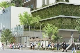 green office building. Renderings Via Department Of City Planning Green Office Building