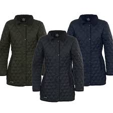 Womens Trespass Lydia Quilted Jacket Coat & Womens Trespass Lydia Quilted Jacket / Coat Adamdwight.com