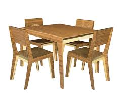 4 Person Kitchen Table Hollow Dining Table 4 Person Brave Space Design
