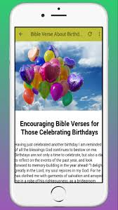 Bible Verse About Birthday For Android Apk Download