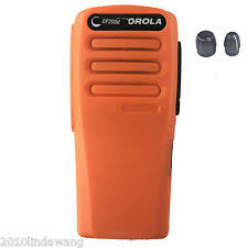 motorola cp200d. orange replacement repair case housing cover for motorola cp200d portable radio cp200d b