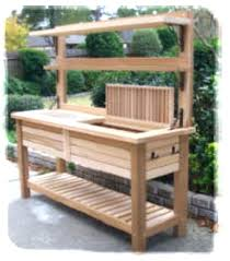 potting table with sink potting outdoor potting bench with sink plans potting table with sink