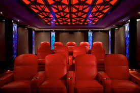 home theater art. art deco home theatre full view contemporary-home-theater theater r