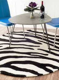 12 photos gallery of add home luxury with zebra print rug selections