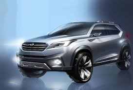 2018 subaru third row. brilliant 2018 subaru viziv concept sketch for 2018 subaru third row