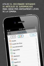 Lista De Compras Para El Supermercado Aplicaciones Iphone Para Crear La Lista De La Compra Omicrono