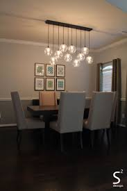 large rectangular chandelier with dining room green curtains blue glass chandelier high back dining for dining
