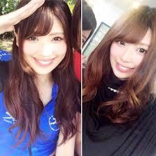 新谷桐子 в Twitter 4年間でロングショートまで色んな髪型してきた
