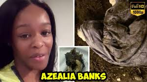 AZEALIA BANKS APPEARED TO BOIL DEAD CAT REMAINS IN A DISTURBING INSTAGRAM  POST - YouTube