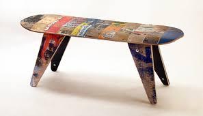 Custom Made Adirondack Chair From Repurposed Skateboards
