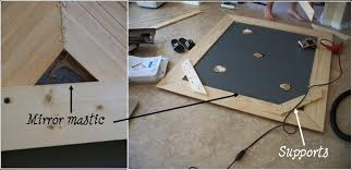 Amusing How To Make A Frame For A Mirror 73 With Additional Interior Decor  Home With