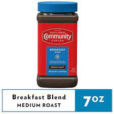 0 users rated this 3 out of 5 stars 0. Community Coffee Breakfast Blend Instant 7 Ounce Jar Walmart Com Walmart Com