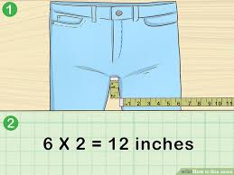 3 Easy Ways To Size Jeans With Pictures Wikihow