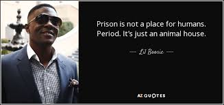 Lil Boosie Quotes Gorgeous Lil Boosie Quote Prison Is Not A Place For Humans Period It's Just