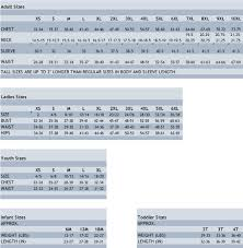 Sizing Charts Amerasport Resume Samples