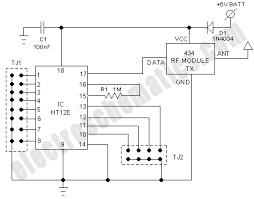 rf receiver circuit diagram ireleast info rf based wireless remote control switch wiring circuit