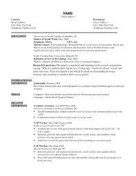 Sample Of Social Worker Resume Social Work Resumes Samples Release
