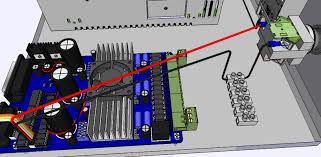 wire e stop black on the limit cable to pass through a vacant position on a rail connector and then to terminal 4 on the e stop button wiring limit switches