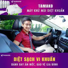 Tamako - Máy khử mùi diệt khuẩn xe hơi - Home