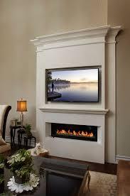 custom cast stone fireplace with contemporary linear firebox