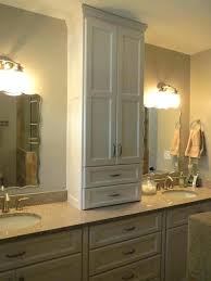 amazing of design for bathroom vanity towers cool storage tower on cabinet with inch matching countertop bathroom storage tower