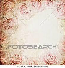clip art grunge beige and pink wedding background fotosearch