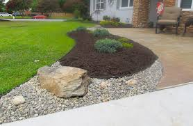 Landscaping Ideas Mulch Landscaping Ideas With Stone landscape rocks