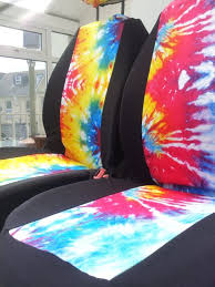tie dye car seat covers car front seat