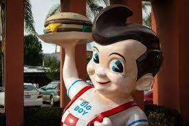 No, the iconic Bob's Big Boy mascot isn't going anywhere