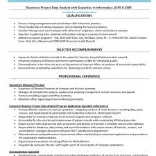 Business Operations Management Executive Resume Template By