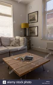 Modern Light Wood Furniture A Modern Light Living Room In And English Home With Wooden