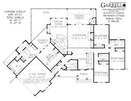 nunley cottage house plan house plans by garrell associates, inc Four Bedroom Cottage House Plans nunley cottage house plan 12014, 1st floor plan 4 bedroom cottage house plans