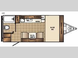 travel trailer floor plans. Real-Lite Mini 160 Travel Trailer Floor Plans