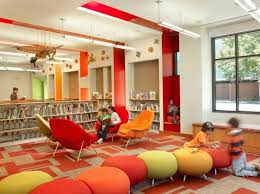 furniture for libraries. awesome kids library furniture colorful contemporary comfortable chairs design ideas for libraries o