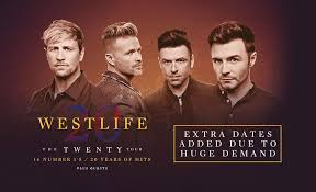 Westlife Whats On M S Bank Arena Liverpool
