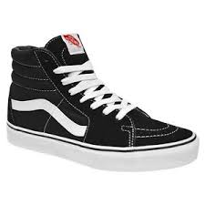 vans shoes black and white classic. image is loading vans-classic-sk8-hi-top-black-white-fashion- vans shoes black and white classic