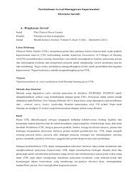 The impact of advertising on consumer price sensitivity in. Resume Jurnal The Clinical Nurse Leader