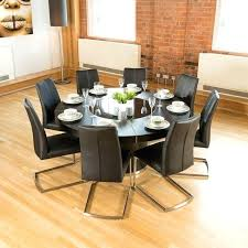 round dining table and 8 chairs large size of 8 chair round dining room table size