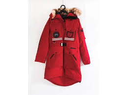 CANADA GOOSE SNOW MANTRA PARKA RED DOWN JACKET