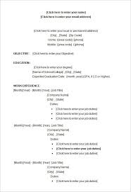 Resume Template Microsoft Word 2018