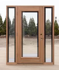 glass door with sidelights exterior doors with