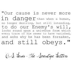 Screwtape Letters Quotes