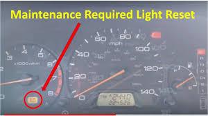02 Honda Civic Maintenance Light Reset 1999 2004 Honda Odyssey Maintenance Required Light Reset